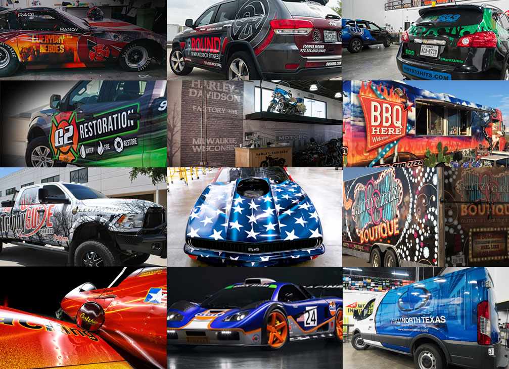 Car Wrap Sherman Texas