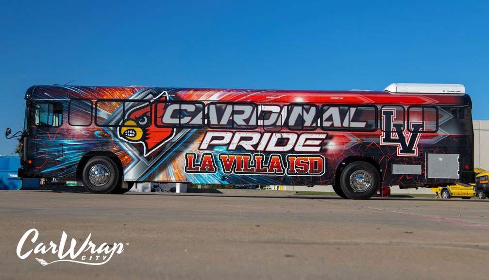 Bus Wraps Dallas 1